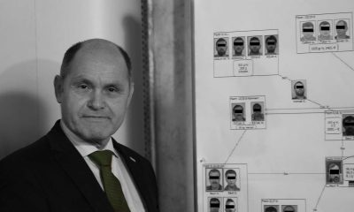 Ex-Innenminister Wolfgang Sobotka - Foto Fass ohne Boden